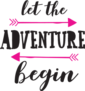 Let the adventure begin icon