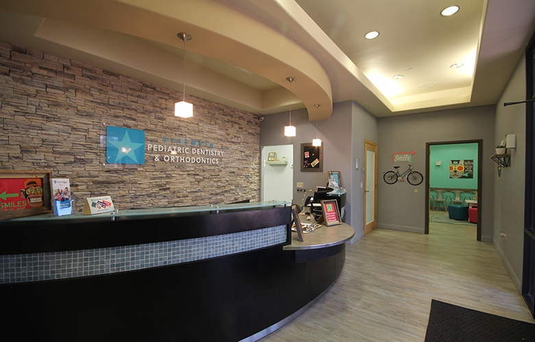 Welcoming front office reception